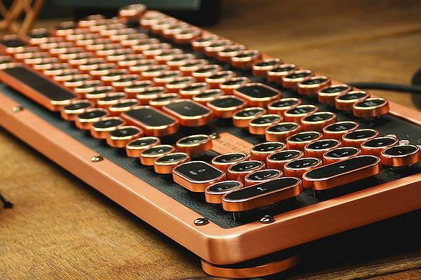 Typewriter Inspired Mechanical Keyboard