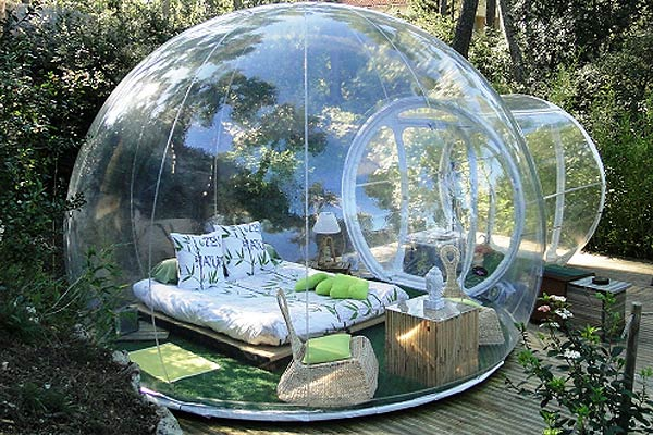The Camping Bubble Tent