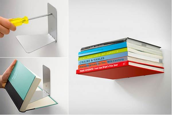 Conceal Floating Bookshelf INeedIt