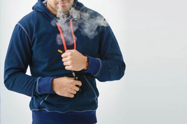 Vape & E-Cig Integrated Hoodies