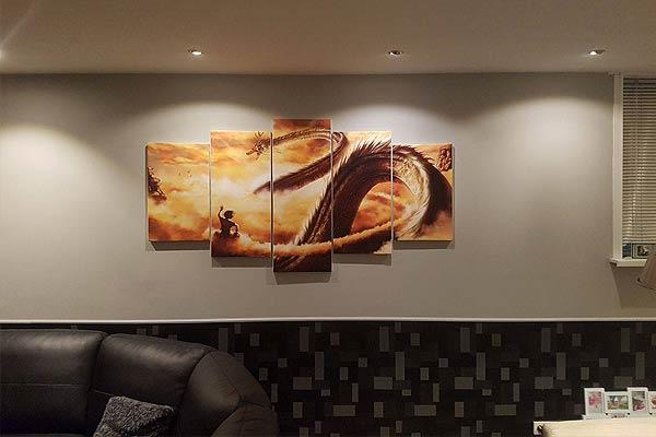 Dragon Ball Z Shenron Wall Canvas I Need It