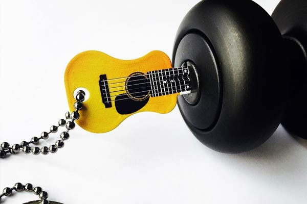 Guitar Shaped Keys opening lock