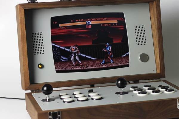 Briefcase Portable Arcade Console