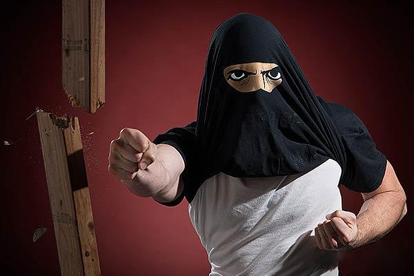 Ninja Disguise Flip T-Shirt