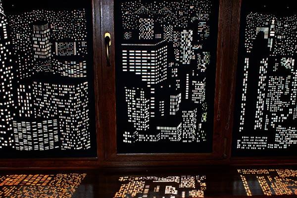 Cityscape Blackout Blinds