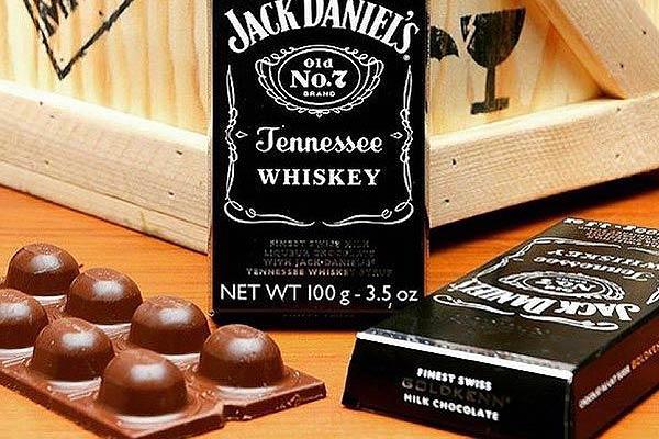 Whiskey Chocolate Bar