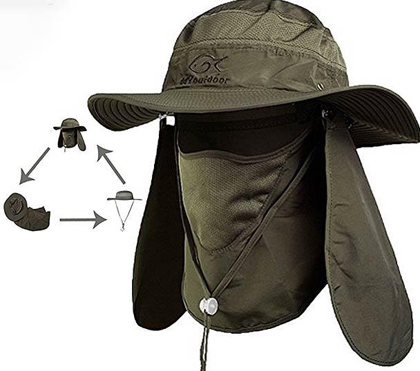Outdoor Sun Protection Fishing Cap