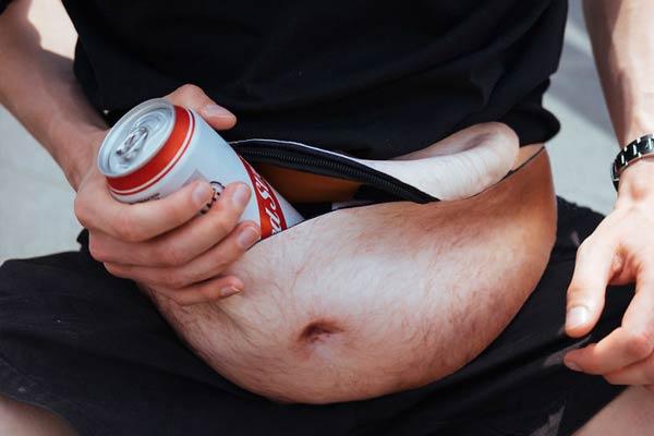 Dad Bag Beer Belly Waist Pocket