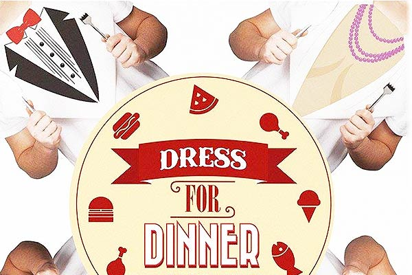 Dress for Dinner Paper Napkins