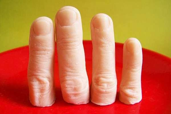 Finger Shaped Soap