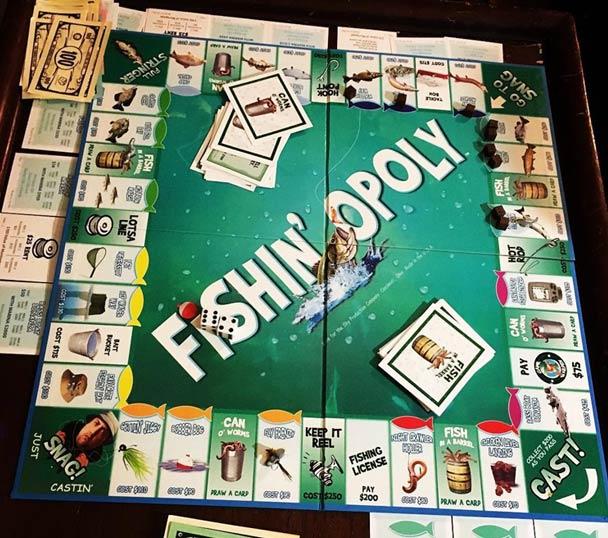 Fishing-Opoly Board Game