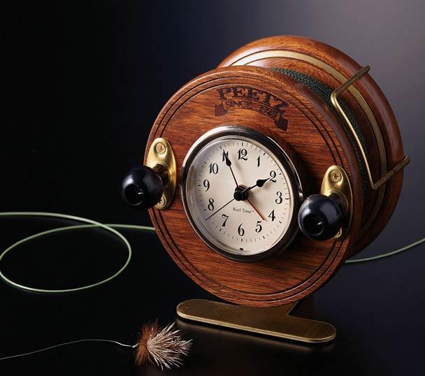 Fishing Reel Talking Alarm Clock