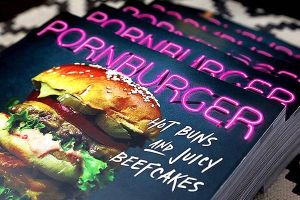 PornBurger:  Pun-Infused Cookbook