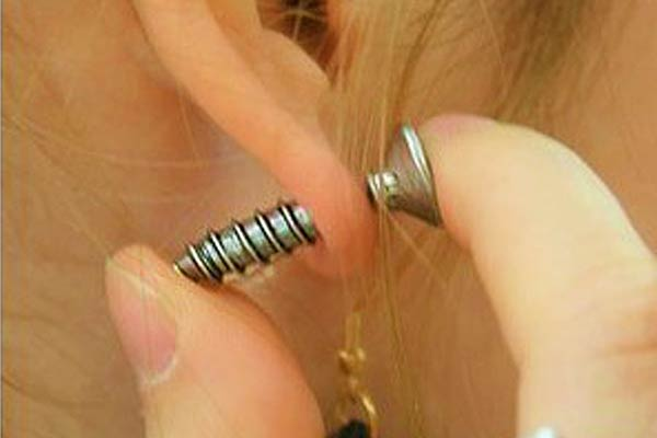 Screws Ear Stud Earrings