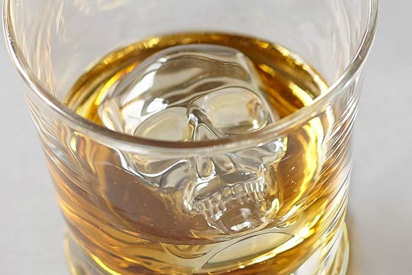 3D Skull Ice Cube Mold Tray