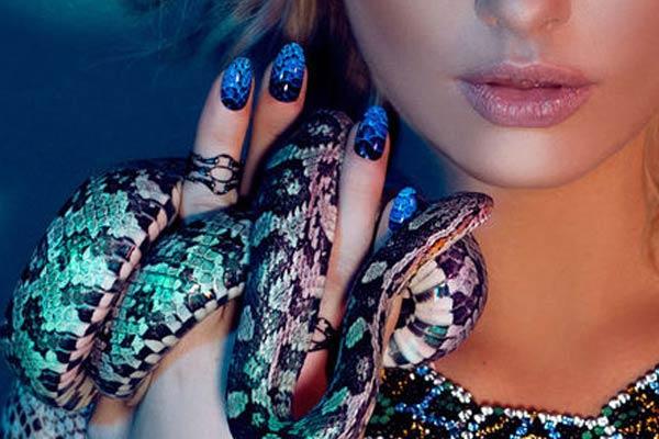 Snake Skin Nail Stickers