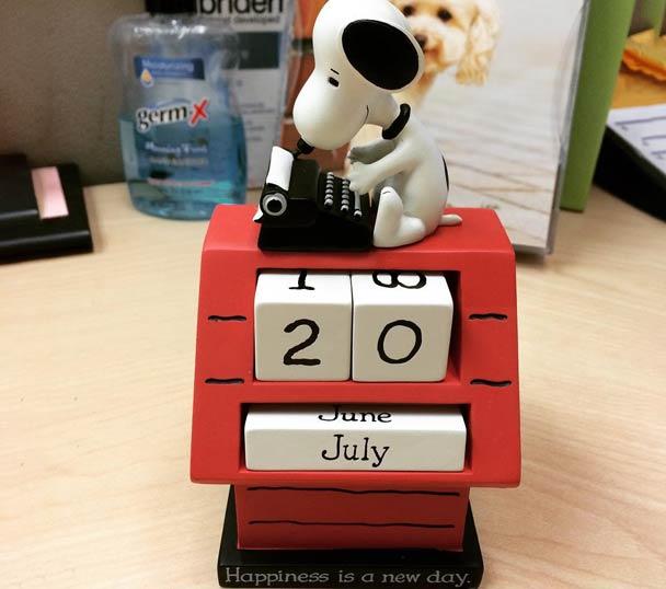 Snoopy Perpetual Calendar