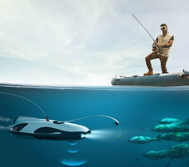 Underwater Drone for Fishermen