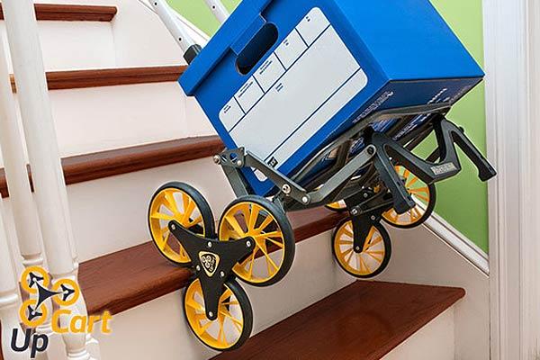 All-Terrain Stair Climbing Cart Trolley