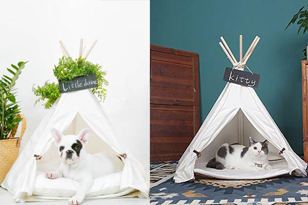 Pet Teepee Tent Bed I Need It