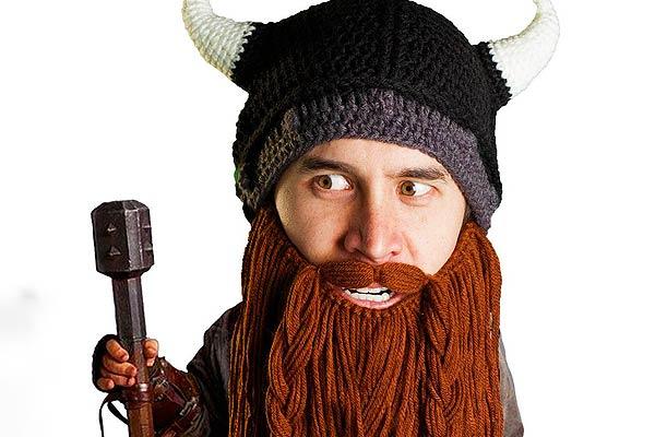 Long Viking Beard Masks