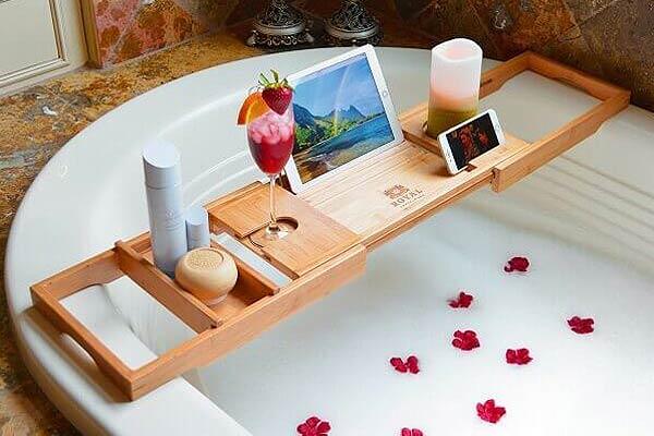 Luxury Bathtub Caddy Tray – I*Need*It