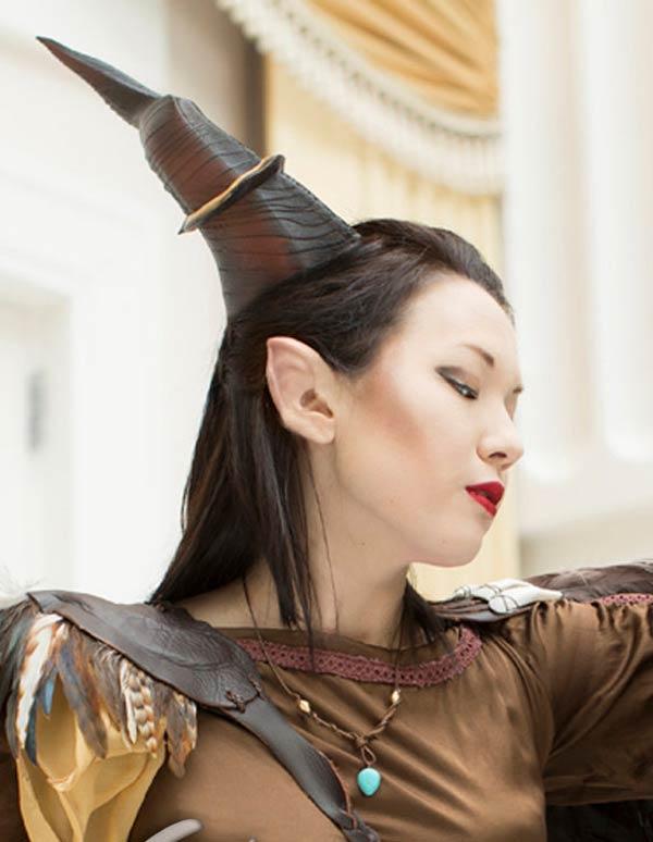 Maleficent Inspired Horns