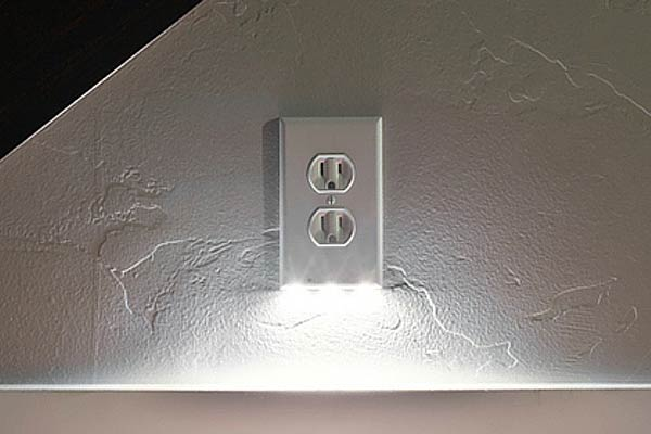 Outlet wall plate led night light ineedit outlet wall plate led night light aloadofball Image collections