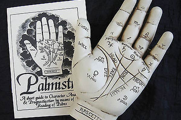 Palmistry Hand Sculpture Palm Reading