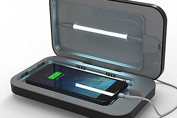 Sanitize and Kill Bacteria PhoneSoap