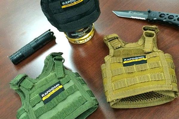 Tactical Beer Vest Holder