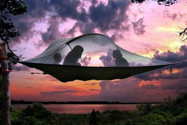 3-Person Suspended Tree Tent