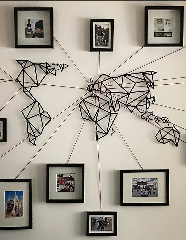 World Map Metal Wall Art – I*Need*It