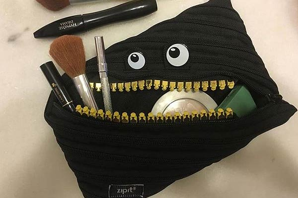 Smiling Monster Jumbo Pouch
