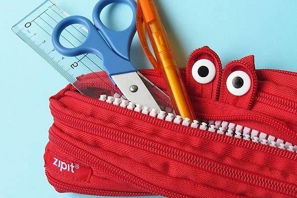 Smiling Monster Jumbo Pouch