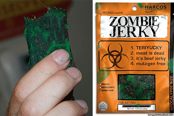 Post-Apocalypse Food Zombie Jerky